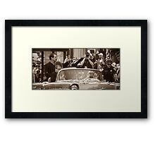 The madness of the GIANTS! Framed Print