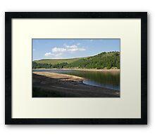 Derwent Reservoir in the Peak District Framed Print