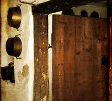 Smokehouse at the Old Farm by RC deWinter