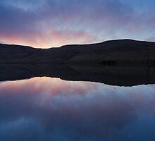 Twlight reflects on Long Loch by Greg McKinnon
