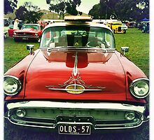 Surfs Up-{Old-times in the Oldsmobile} by LJ_©BlaKbird Photography