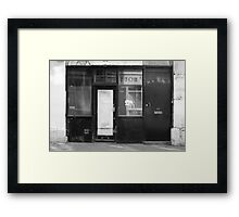 THE LOCATION OF 'BLOODY KIDS!' 2011 Framed Print