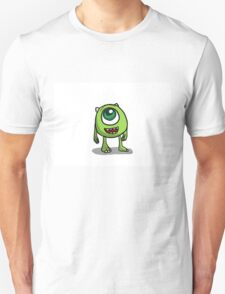Mike Wazowski - Monsters inc sketch T-Shirt