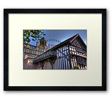 Through the ages Framed Print