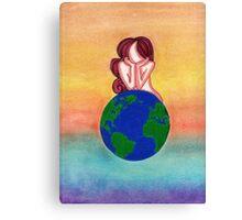 Misty's Mama Earth Canvas Print