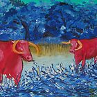 Pink Cows  by Dorothy ROWNTREE