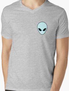 Pastel blue alien - I believe Mens V-Neck T-Shirt