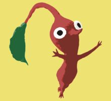 Red Leaf Pikmin by Earth-Gnome