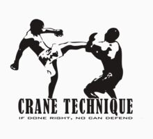 Machida Crane Technique. by avdesigns
