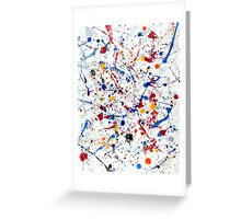Abstract #1 Exhilaration Greeting Card