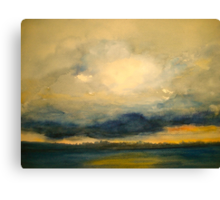The Lowering Sky.. Canvas Print