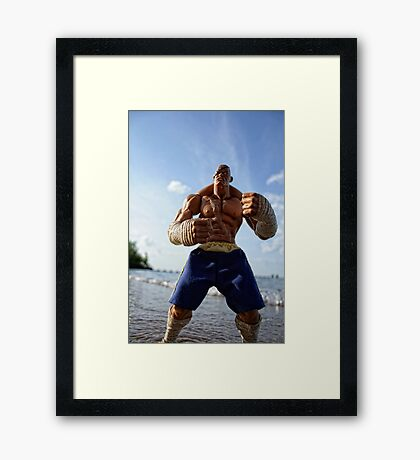 King of Muay Thai Framed Print
