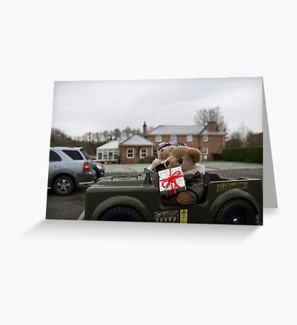 Have jeep will travel Greeting Card