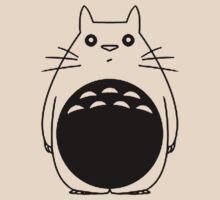Black Totoro Outline