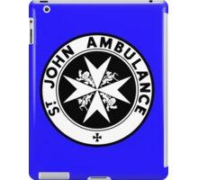 TARDIS St. John's Ambulance Logo (available as leggings!) iPad Case/Skin