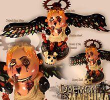 Daemon Ex Machina by spicydonut