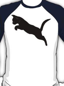 Kitten Jumps Over the Lazy Puma T-Shirt