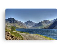 Wastwater In May Canvas Print