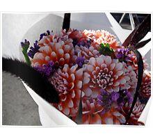 Fall bouquet Poster