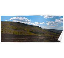 Ilkley Moor Panoramic Poster