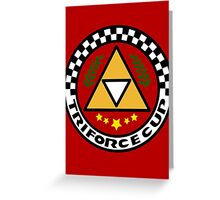 Triforce Cup Greeting Card