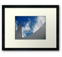 Sky Sculpture Framed Print