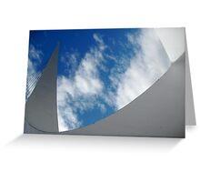 Sky Sculpture Greeting Card