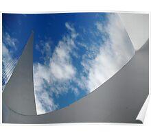 Sky Sculpture Poster