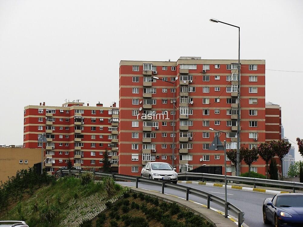 Apartments,Istanbul by rasim1