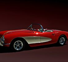 1956 Corvette by TeeMack
