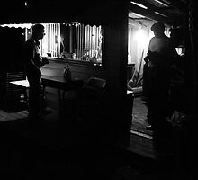 Getting Food at the Cook Shed by Greg Allen