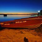Bribie Island at dusk. Queensland, Australia. (3) by Ralph de Zilva