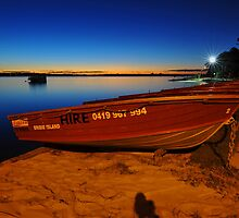 Bribie Island at dusk. Queensland, Australia. (3) by Ralph de Zilva