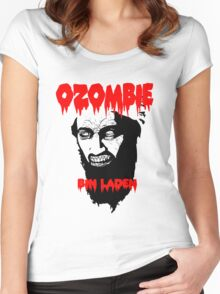 Osama is dead - Osama is undead 2 - Osama Women's Fitted Scoop T-Shirt