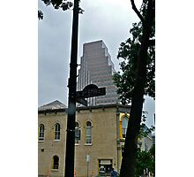 High Rise Reflection 6 - Downtown - Austin Texas Series - 2011 Photographic Print