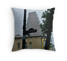 High Rise Reflection 6 - Downtown - Austin Texas Series - 2011 Throw Pillow