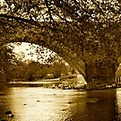 Arches Over The Derwent by Lou Wilson