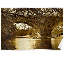 Arches Over The Derwent Poster