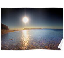 Sunset over Second Valley - Fleurieu Peninsula, South Australia Poster