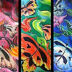 Amazon Butterflies by Angel Ray