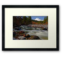 Hood River Landscape Framed Print