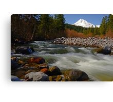 Hood River Landscape Canvas Print