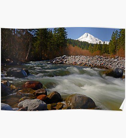 Hood River Landscape Poster