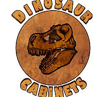 Dinosaur Cabinets by creativecurran
