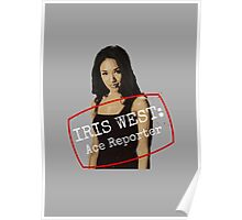 Iris West - Ace Reporter - Central City Picture News Poster