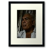 uncle cayo Framed Print