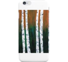 Natural Birch Trees iPhone Case/Skin