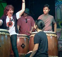 Taiko Excitement ! by heatherfriedman
