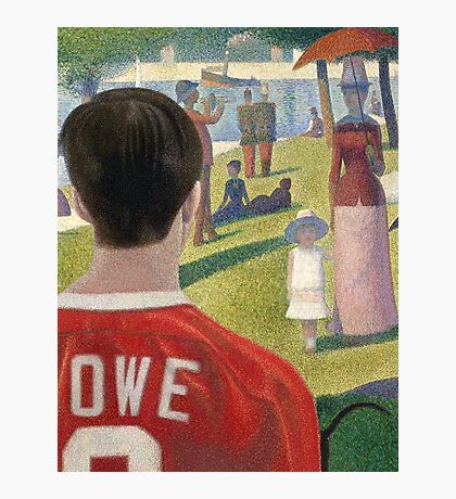 Georges Seurat's Sausage King Photographic Print
