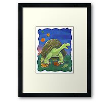 Animal Parade Tortoise Framed Print